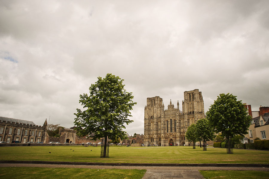 The stunning Wells cathedral