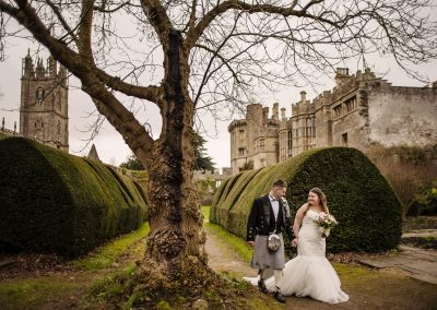 Kim & Stephen – Thornbury Castle