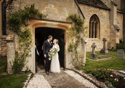Anna & Andrew – St John the Baptist Church, Beckford